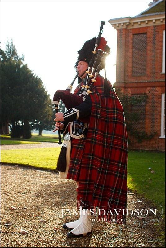 Black Watch Piper in Essex