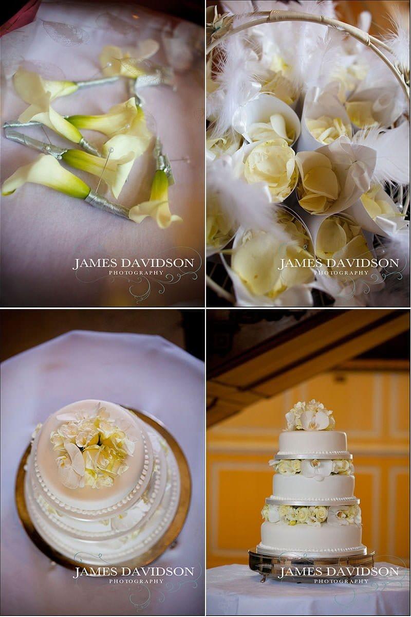wedding details at an essex wedding