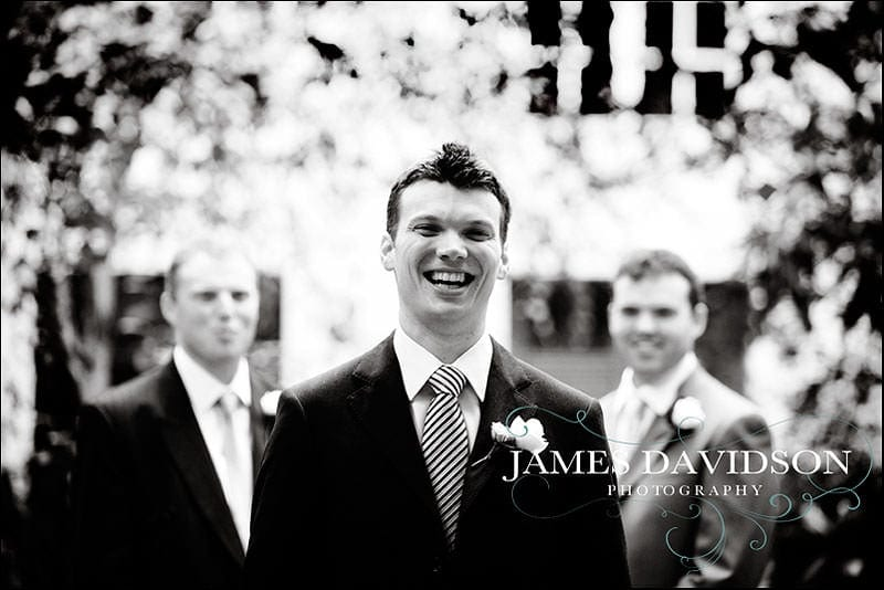 groom at st brides church