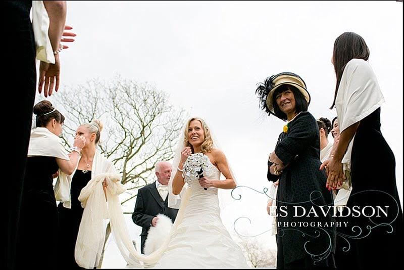 Frinton on Sea wedding