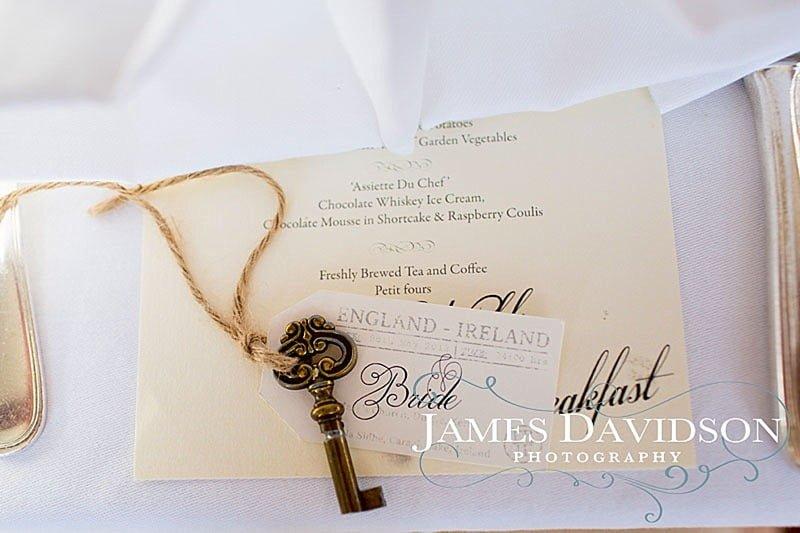 vintage wedding key