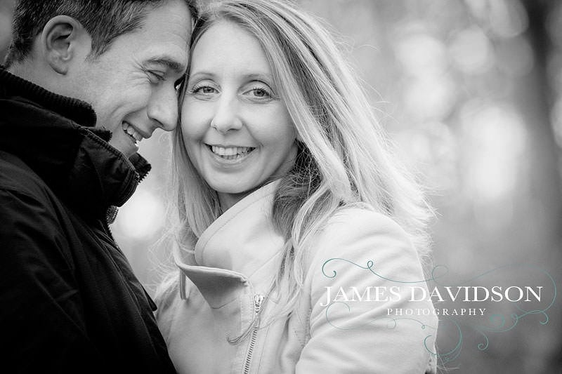 Gosfield hall engagement shoot