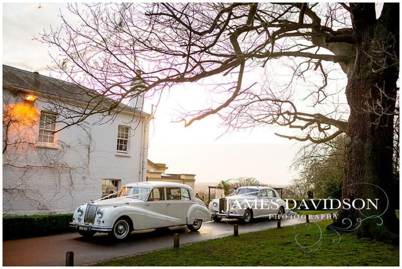 Pembroke Lodge winter wedding