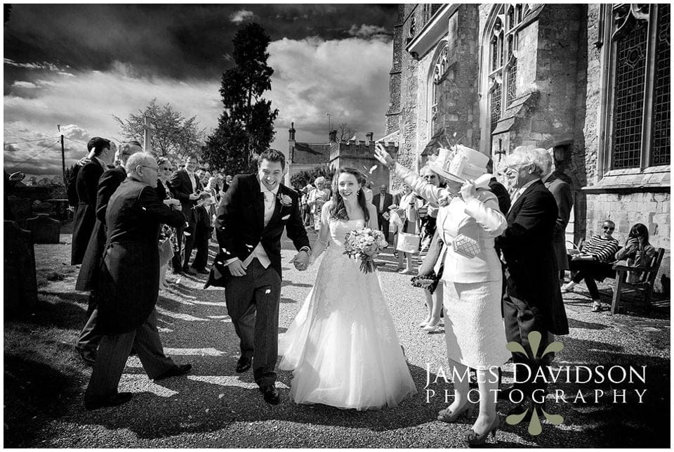 Framlingham church wedding
