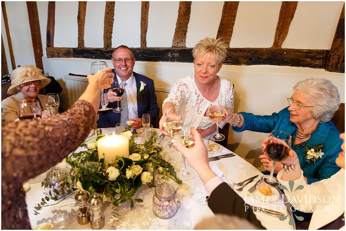 Swan at Lavenham wedding photography