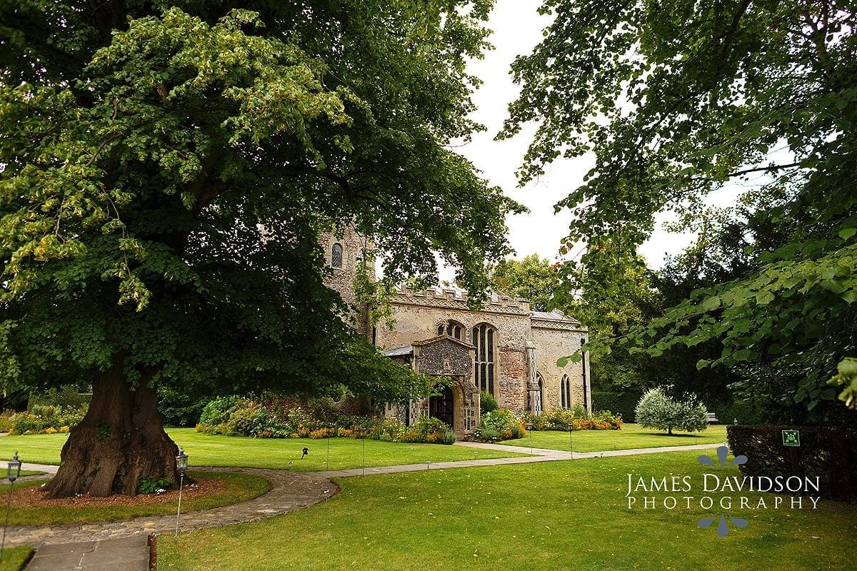 Hengrave Hall chapel