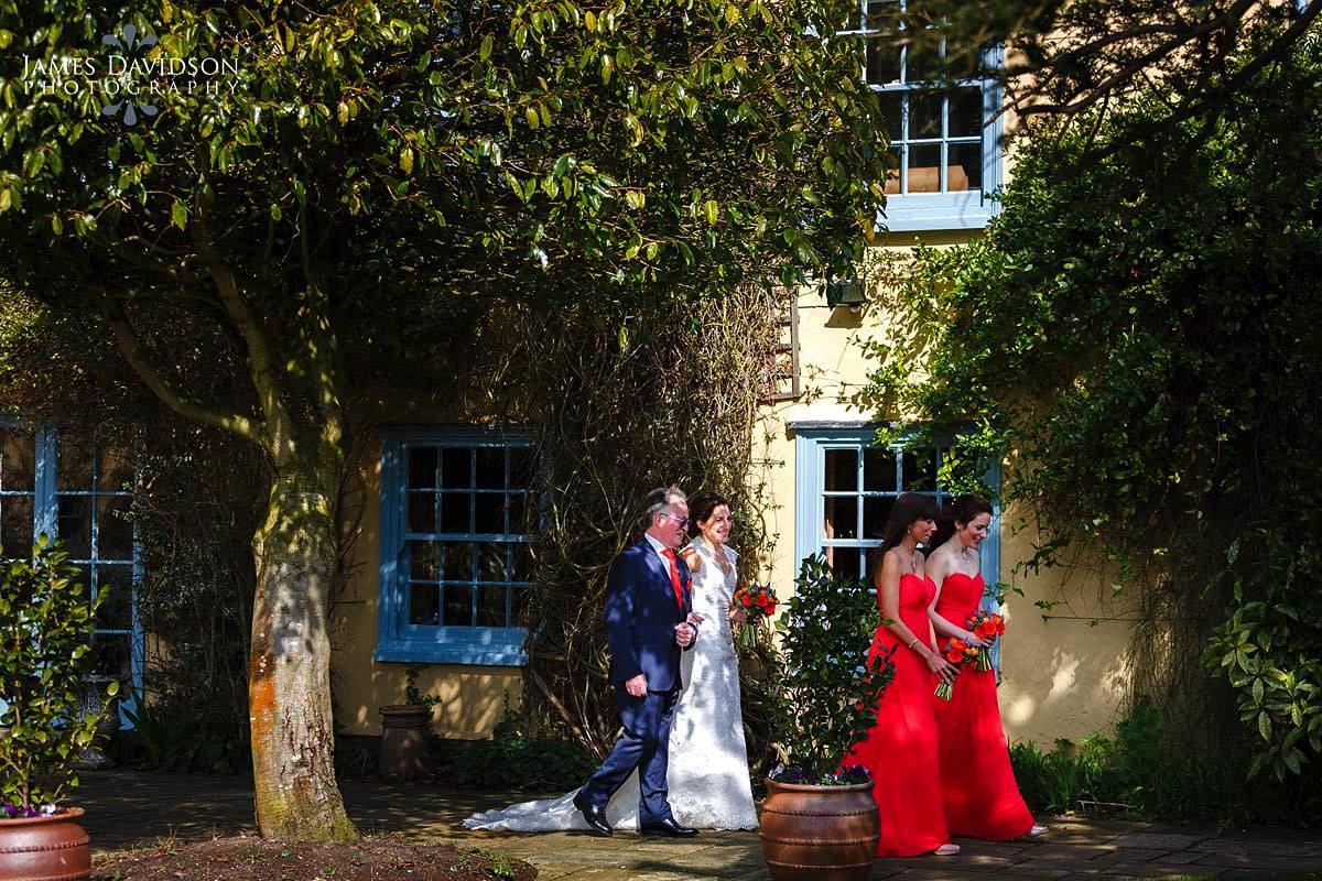 South Farm spring wedding photo