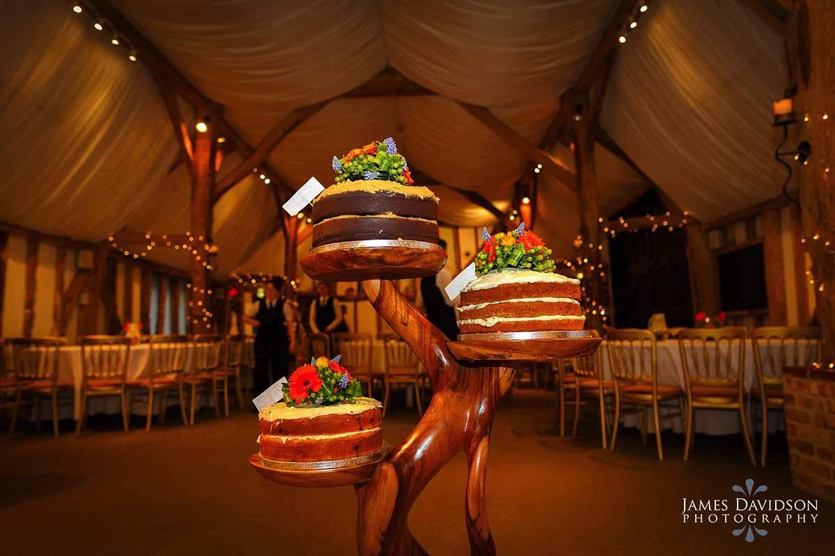South Farm wedding cake