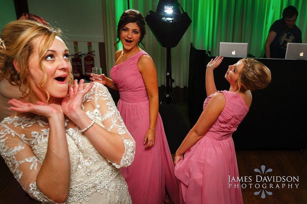 maidens barn wedding dance