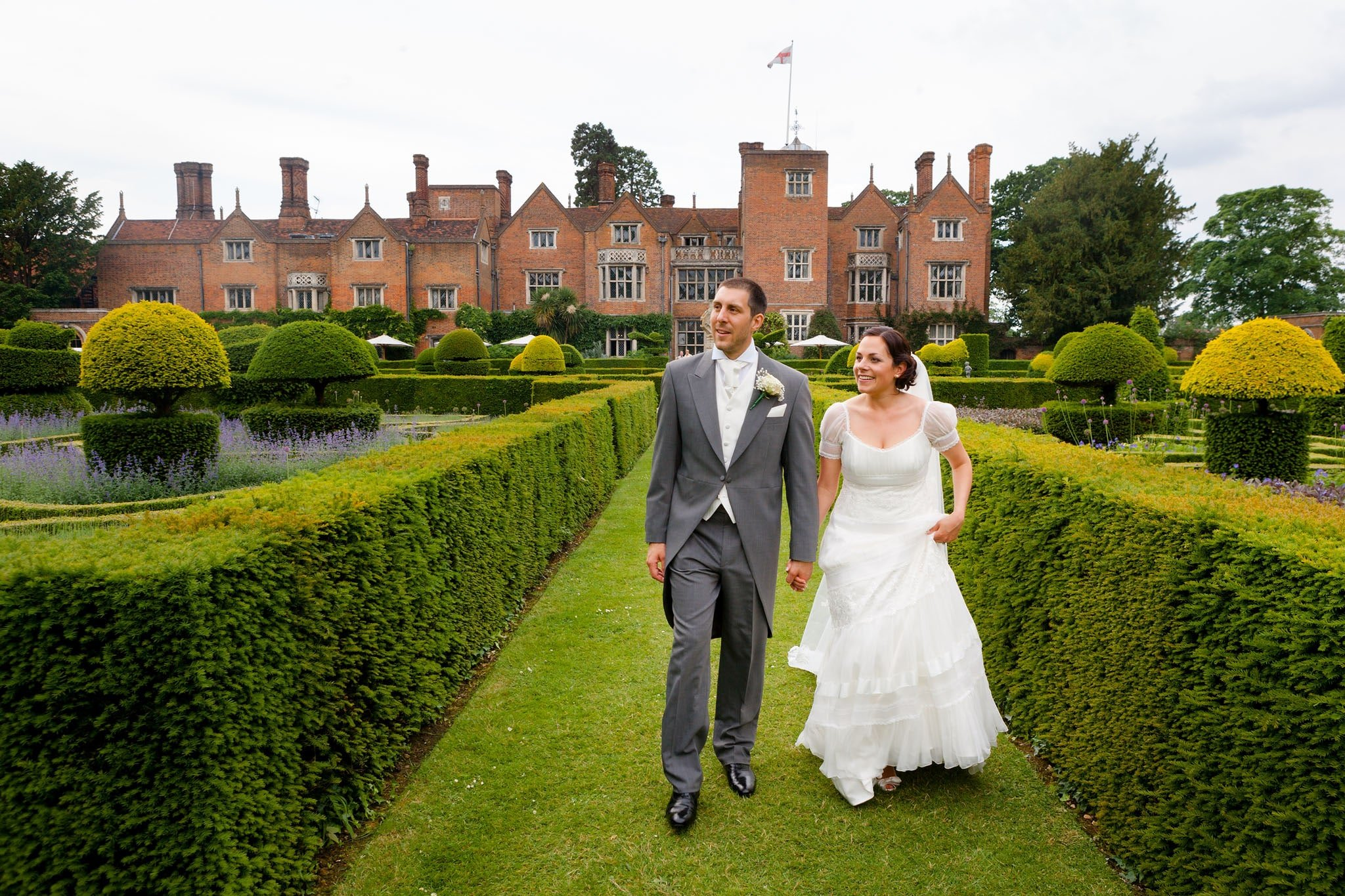 Great Fosters wedding photographer | Anna + James