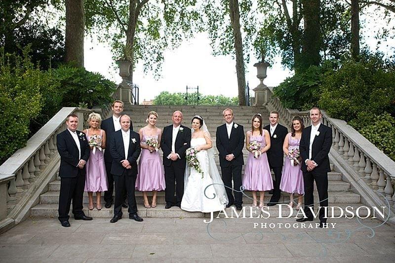 Chelsea Hospital wedding