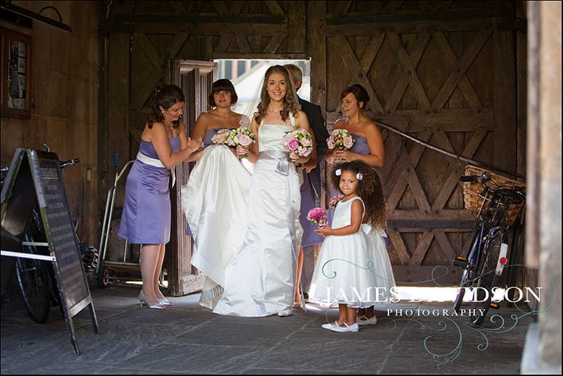 Christ's College Cambridge Wedding Photography