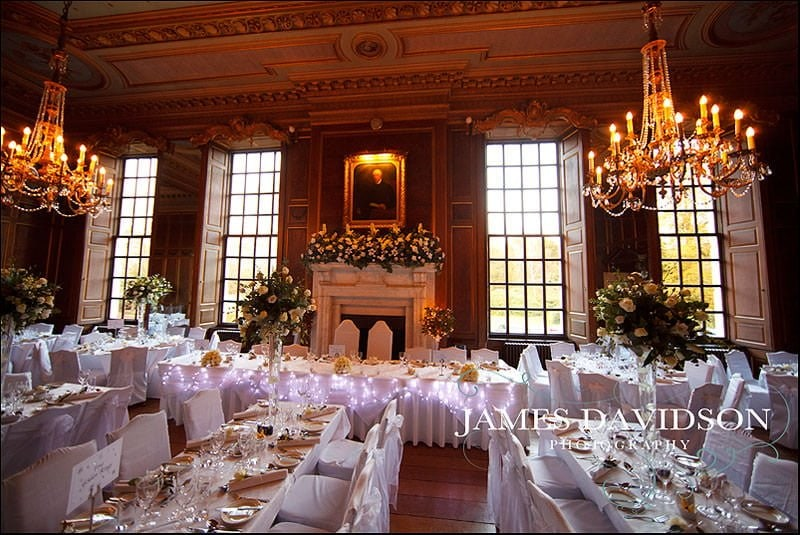 Ballroom at Gosfield Hall