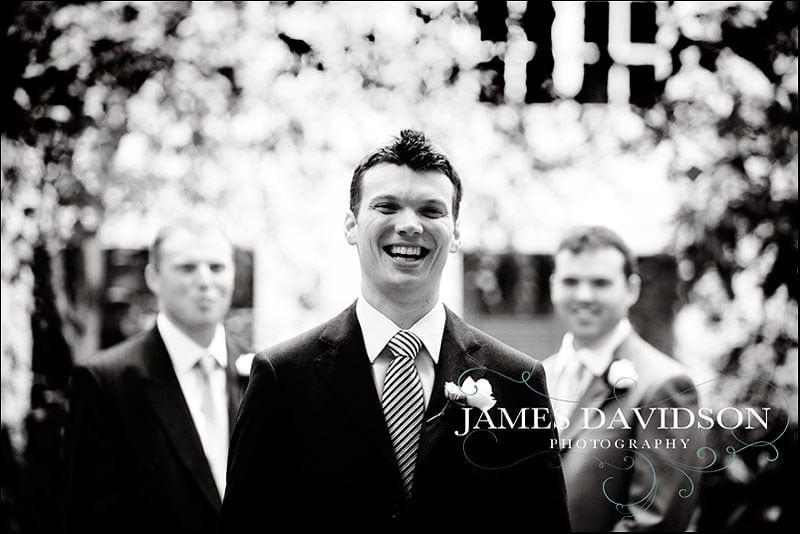 groom at st brides church