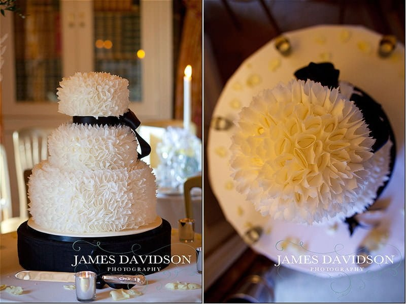 stoke park wedding cake