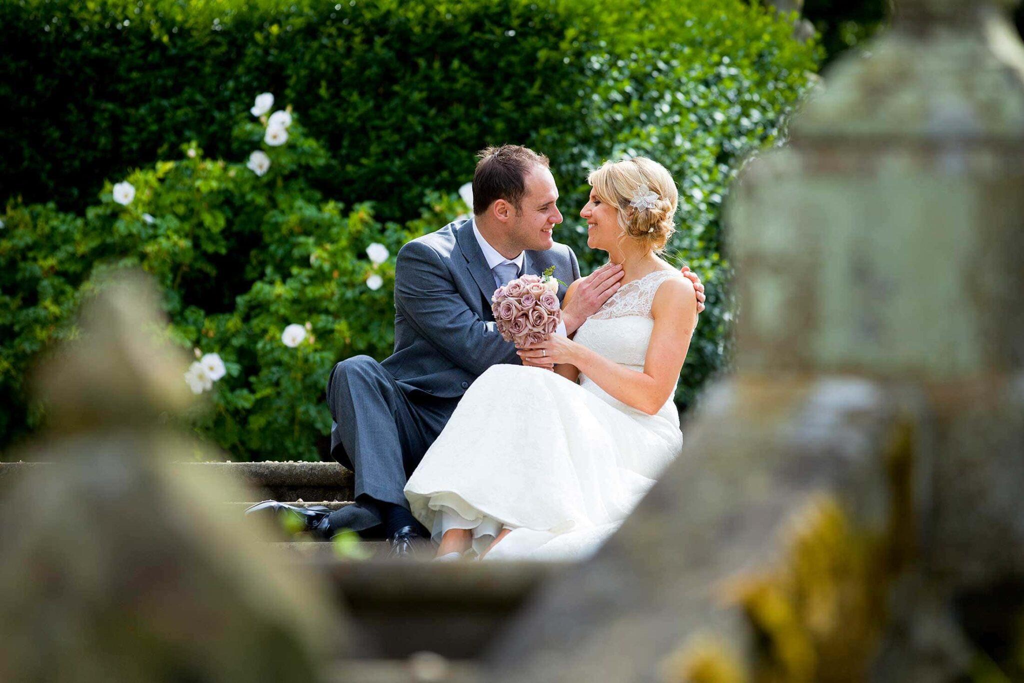 Hengrave Hall wedding photos of Rachel and Dougan