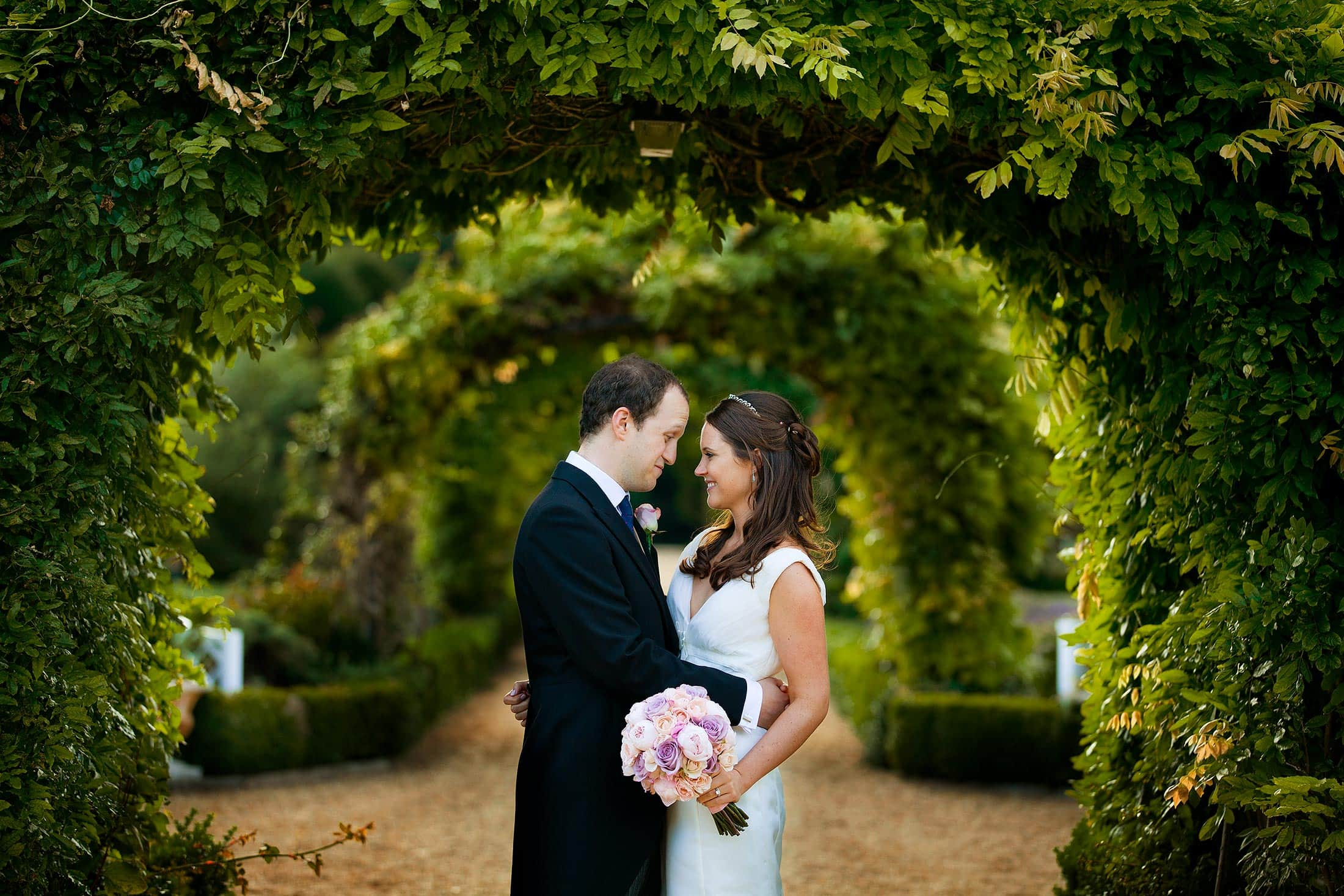 Stapleford Park wedding photography of Harriet and Nick