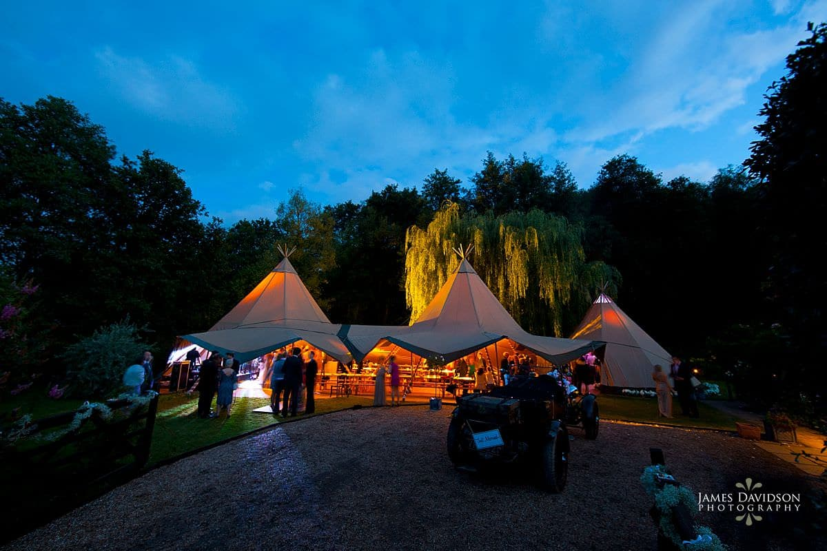 Tentipi wedding photography