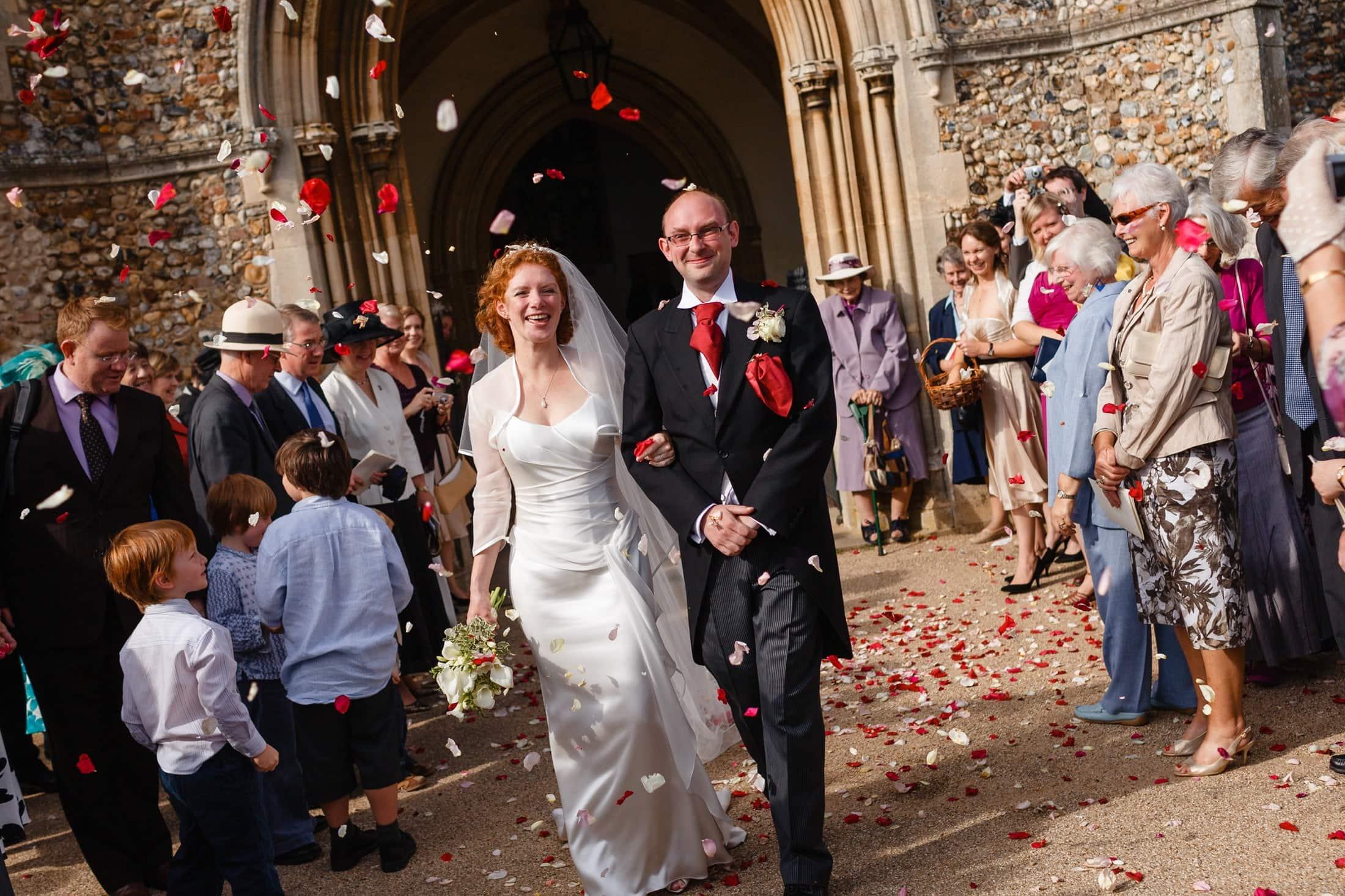 Hintlesham Hall wedding photography of Juliet and Tom