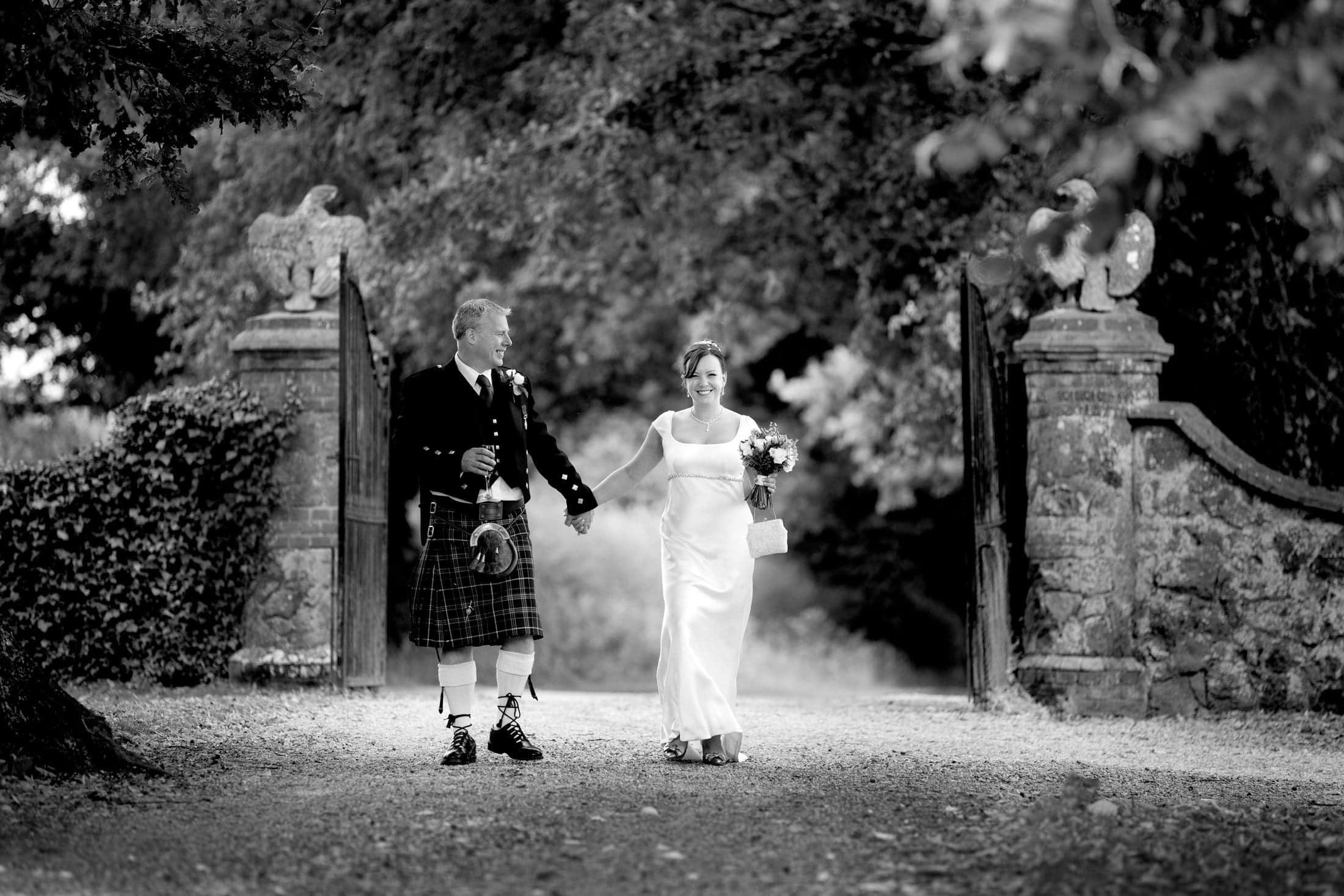 Woodhall Manor wedding photographer of Lucy + Steve