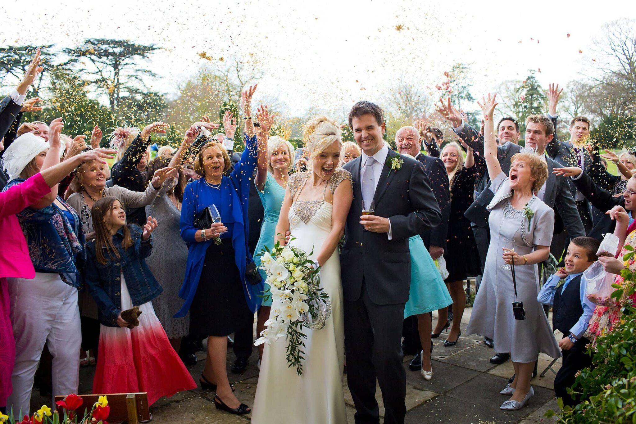 Hengrave Hall wedding photographer | Hannah & James