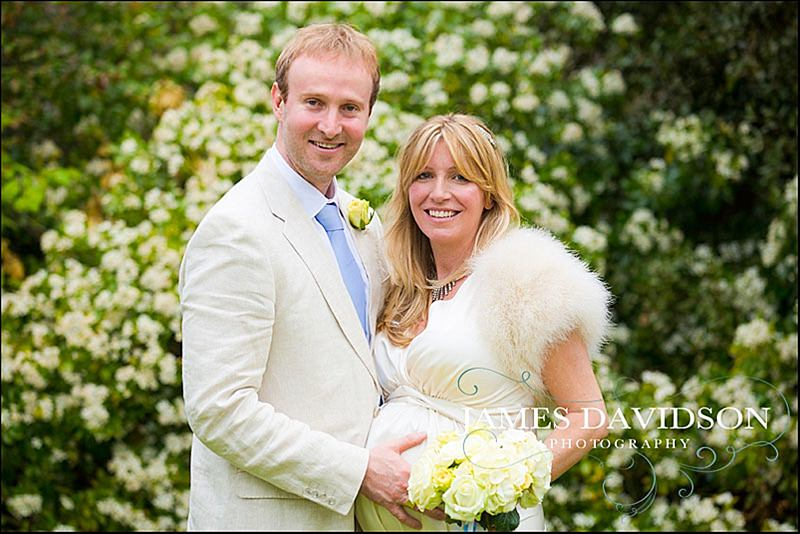 Richmond Registry Office wedding of Mary and Chris