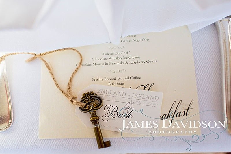 vintage wedding key