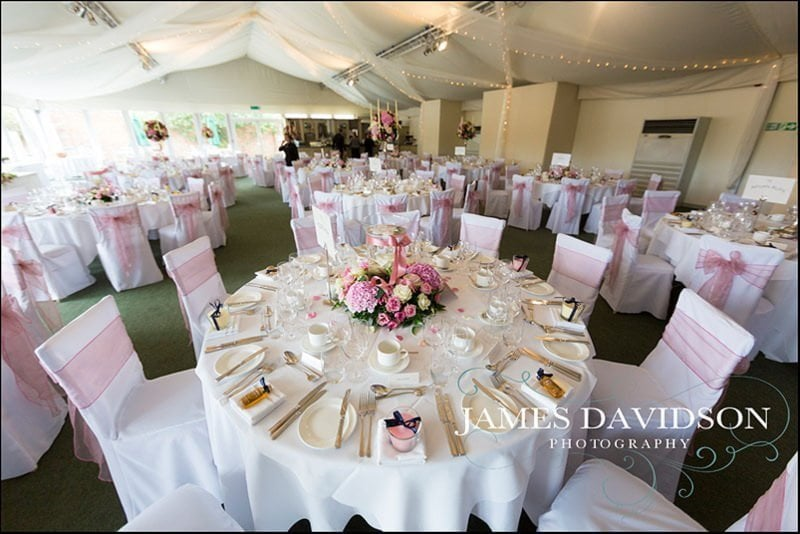 wedding marquee at braxted park