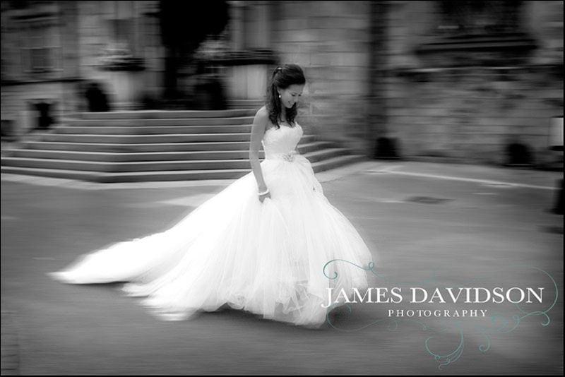 Durham Castle wedding photography