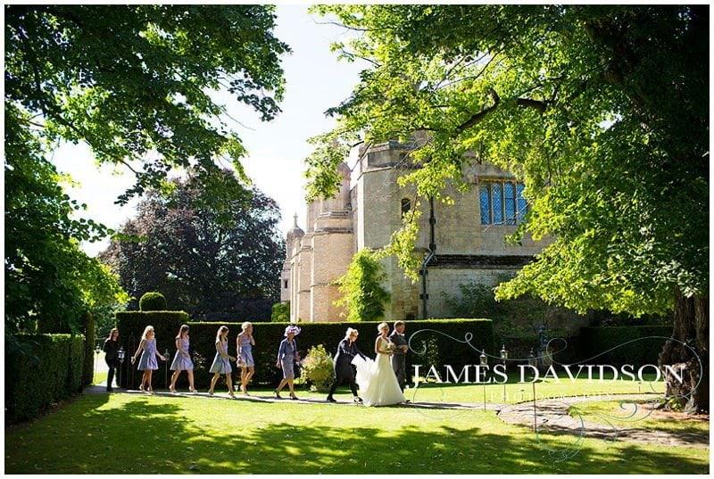 Hengrave Hall wedding photo