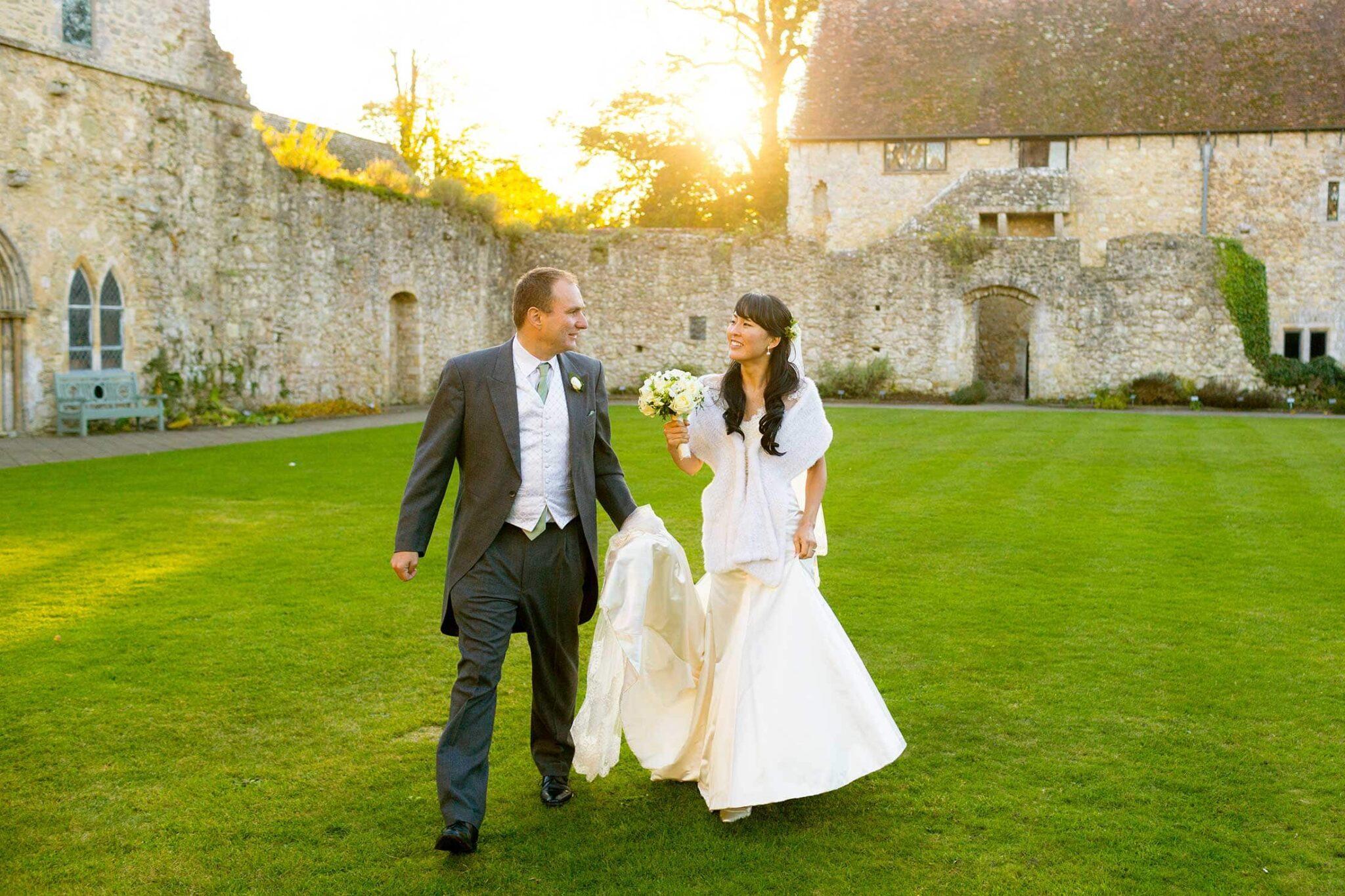 Beaulieu wedding photos of Asako & Paul