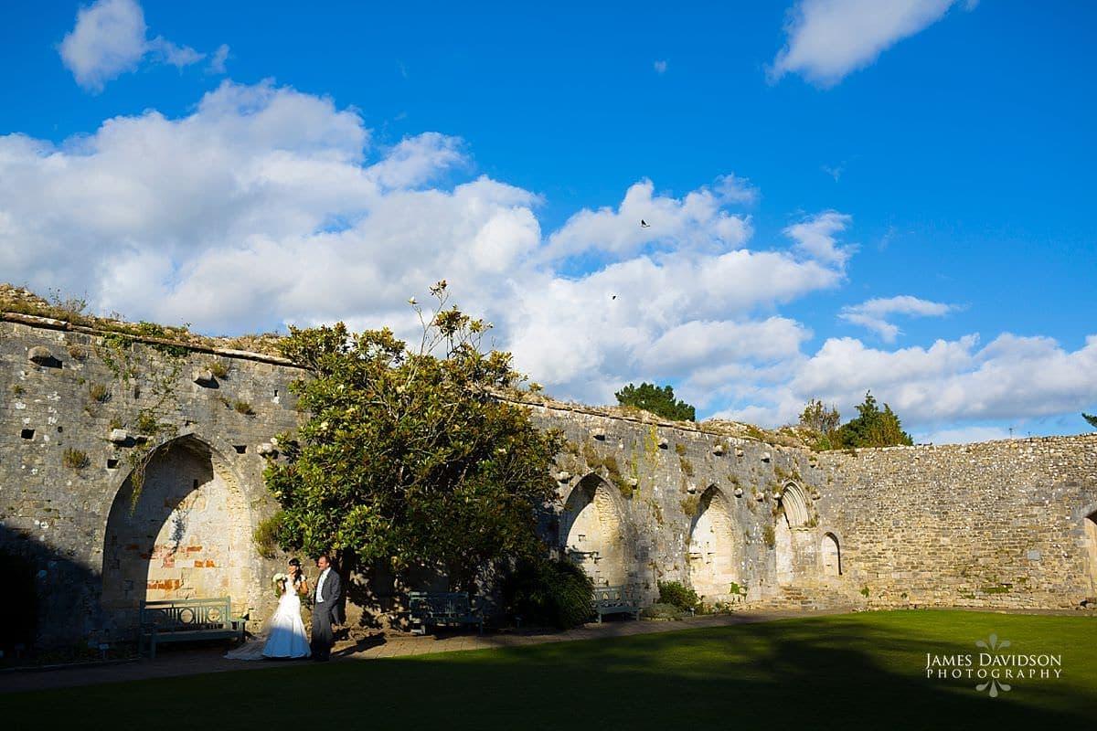 wedding photography at Beaulieu