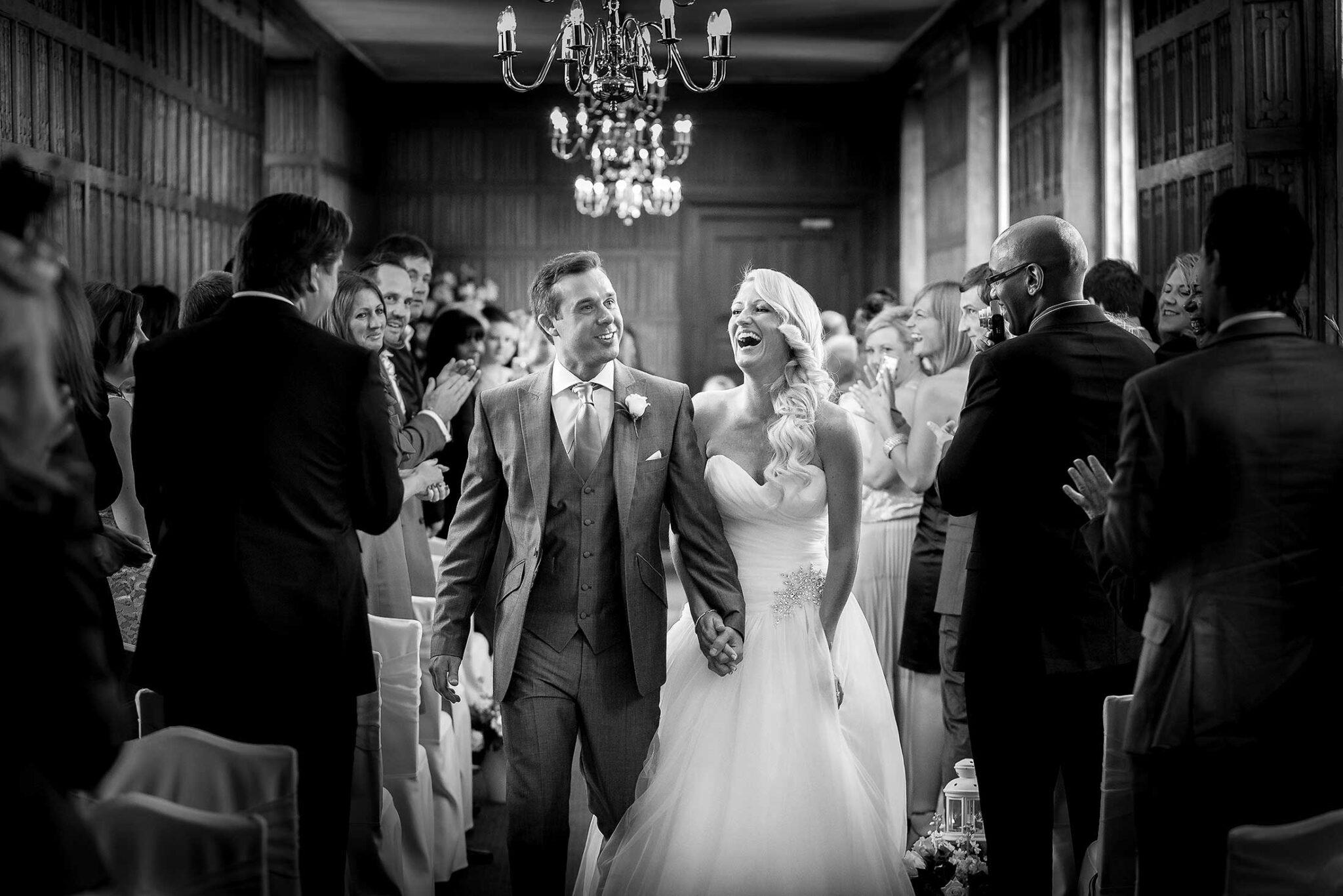 Gosfield Hall wedding of Sharyn and Mark