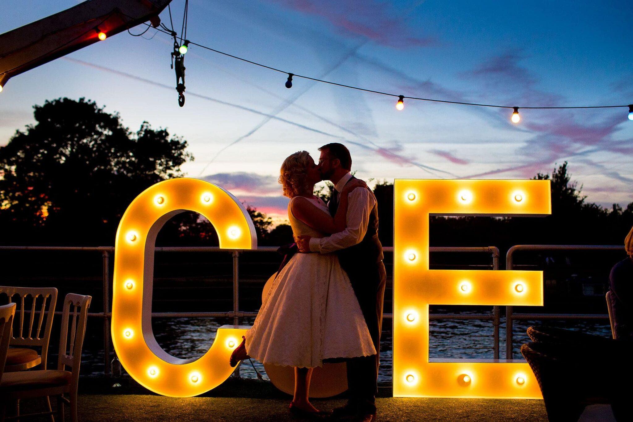 Ravens Ait wedding photos of Claire & Ed