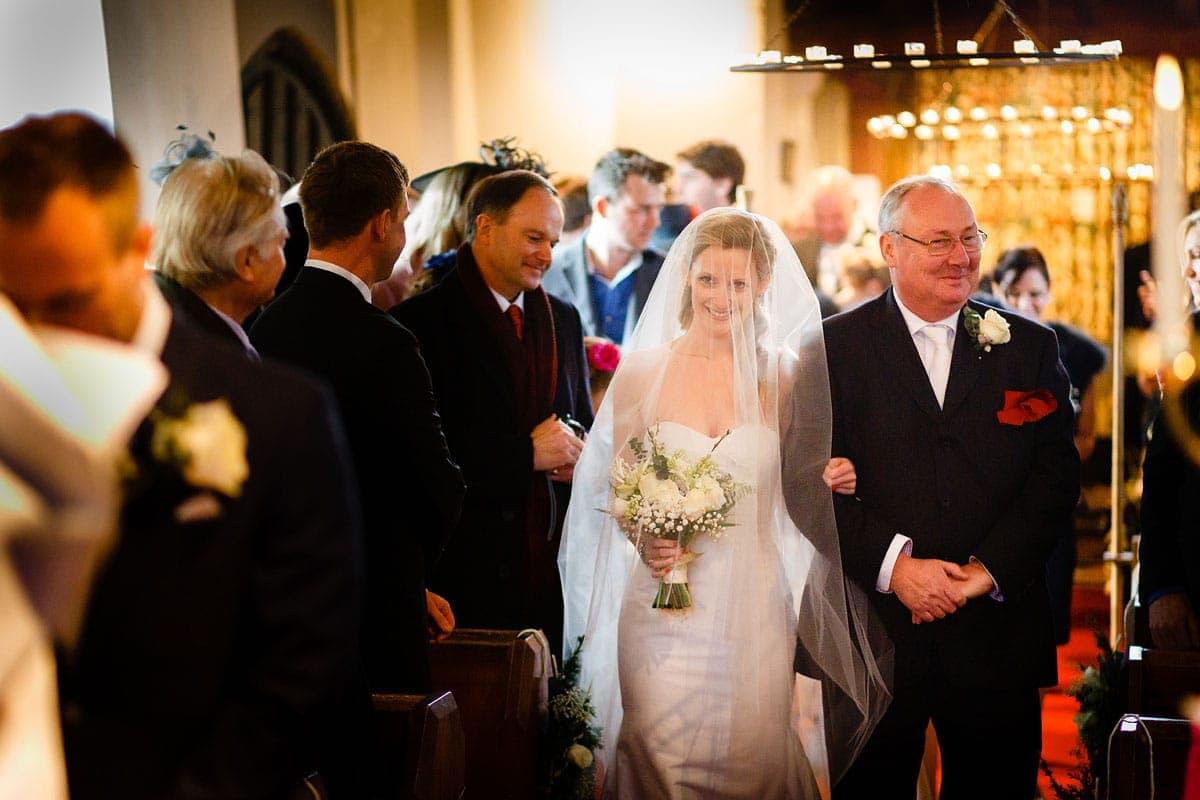 St Thomas's Church Glemham wedding