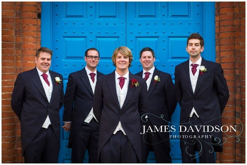 groom at Gosfield Hall