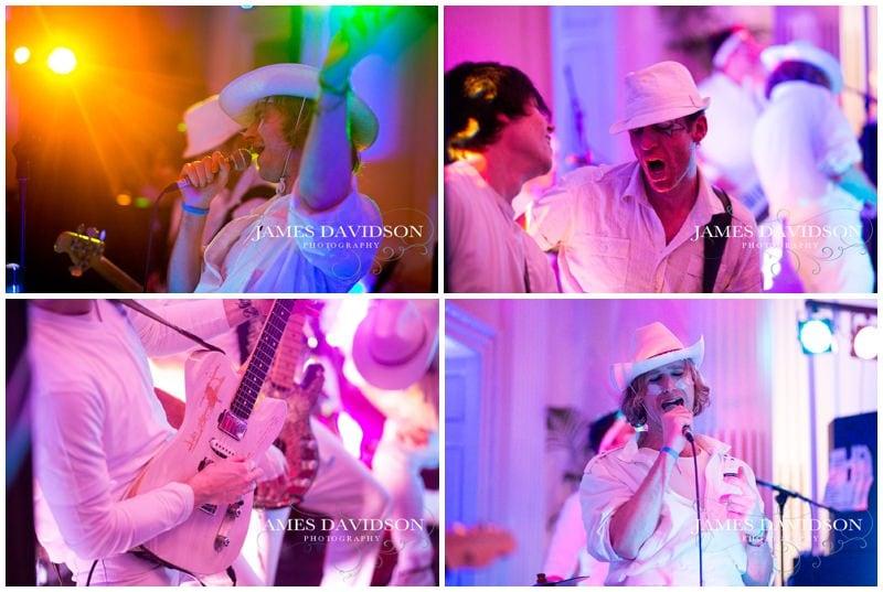 fake tan wedding band