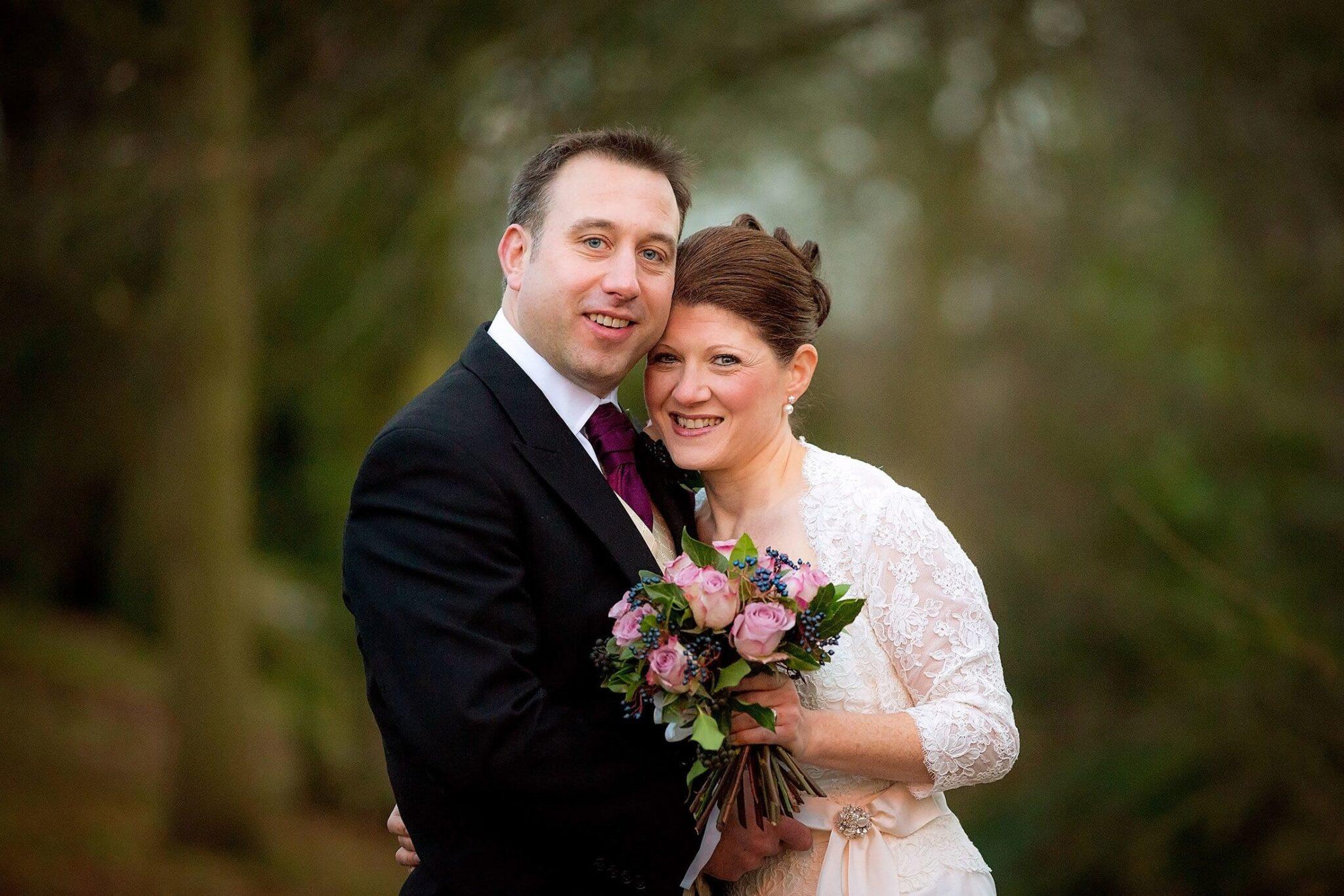 Kate & Neil's winter wedding at Pembroke Lodge