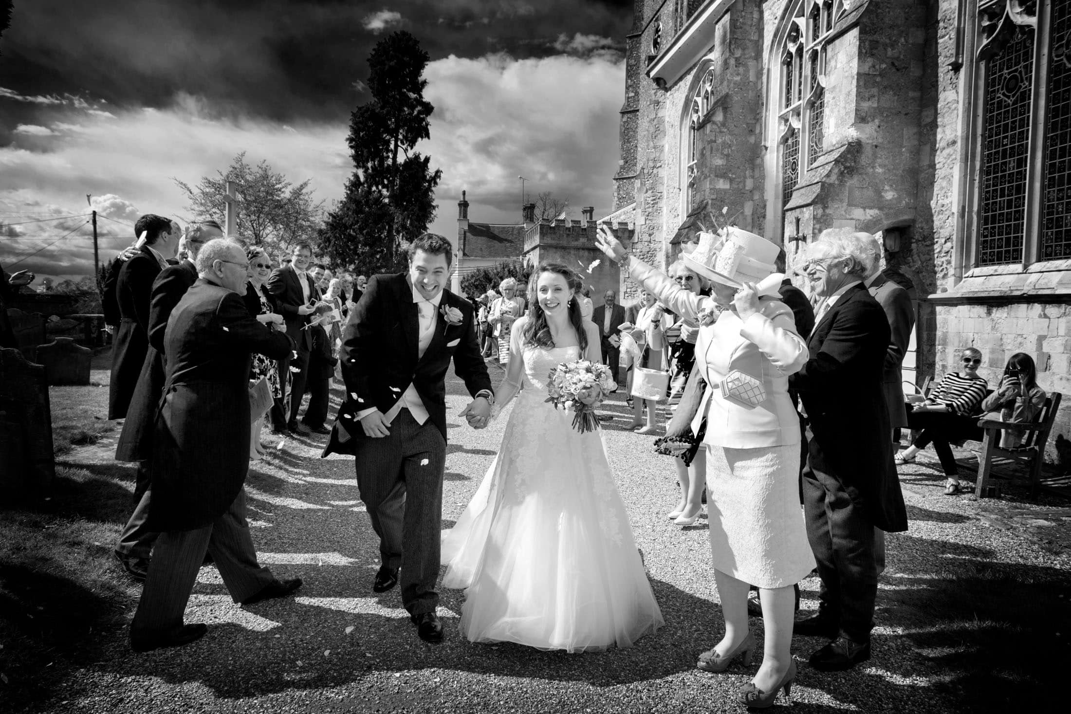 Sarah & Will's Framlingham farm wedding
