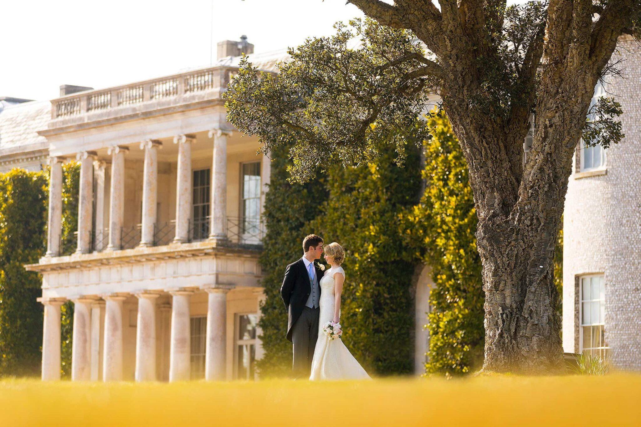 Goodwood House wedding photography of Luke & Jenny