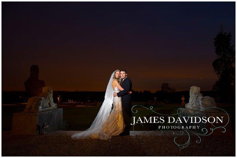 Gosfield Hall winter wedding photos