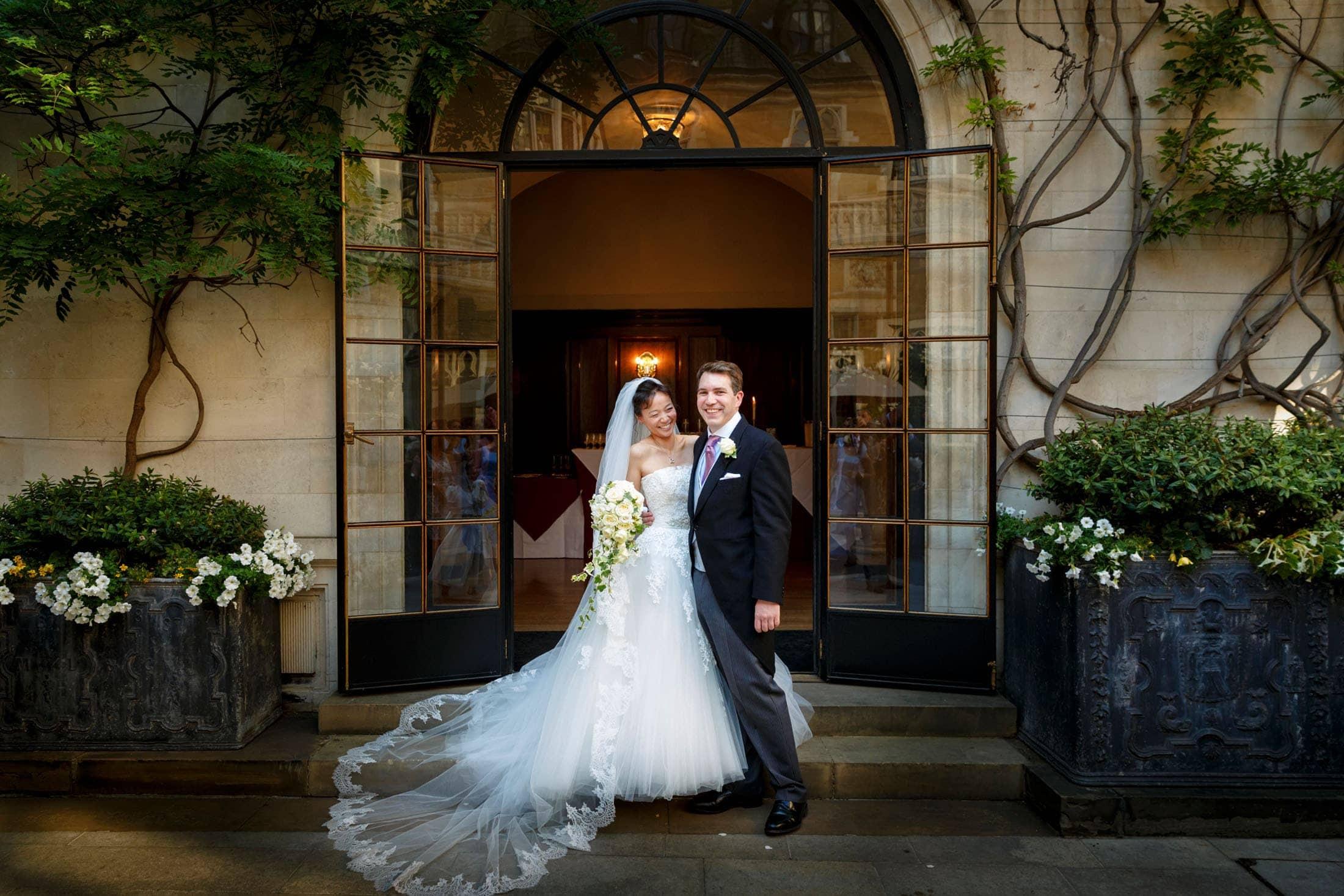 Merchant Taylors Hall wedding photography
