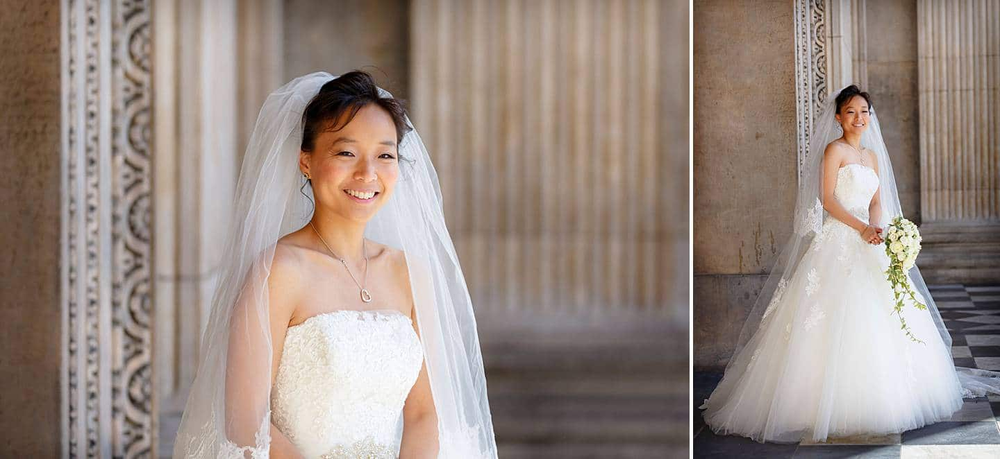 St Pauls Cathedral wedding photos