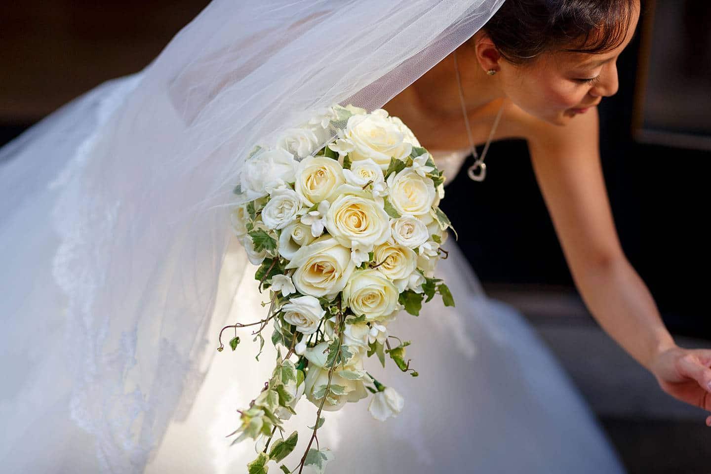 Merchant Taylors Hall wedding bouquet