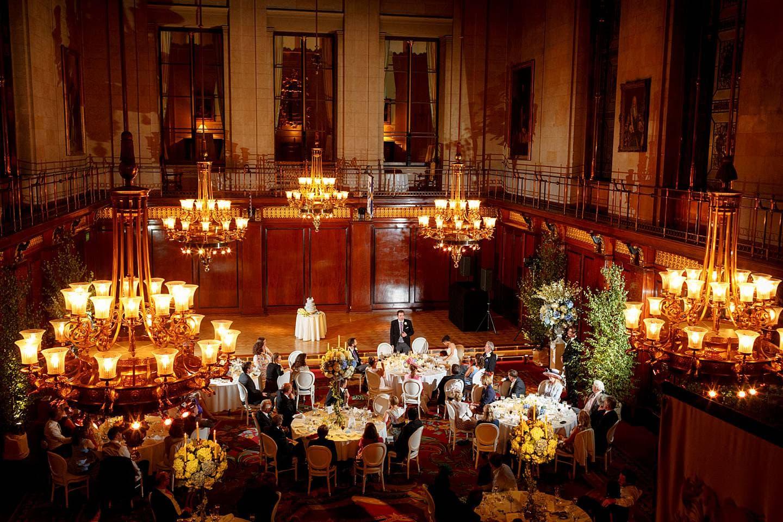 Merchant Taylors Hall wedding speeches