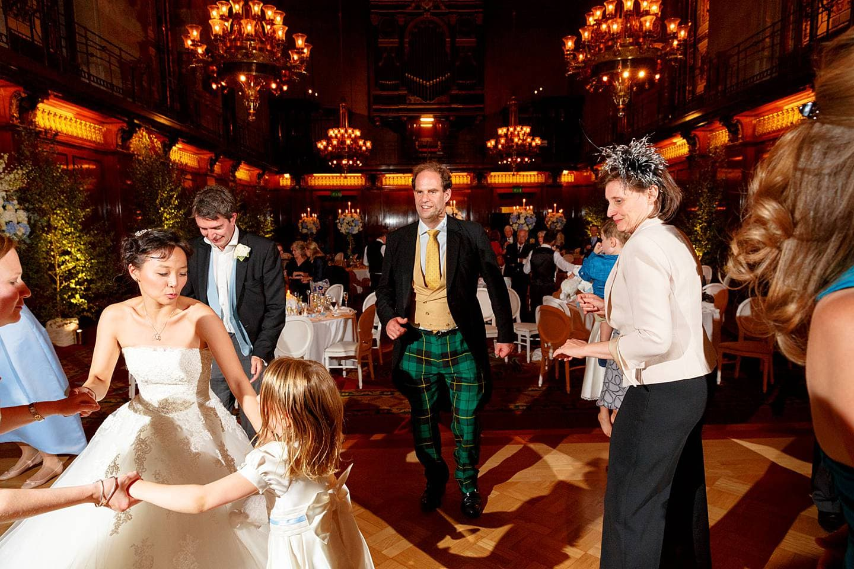 Merchant Taylors Hall dancing