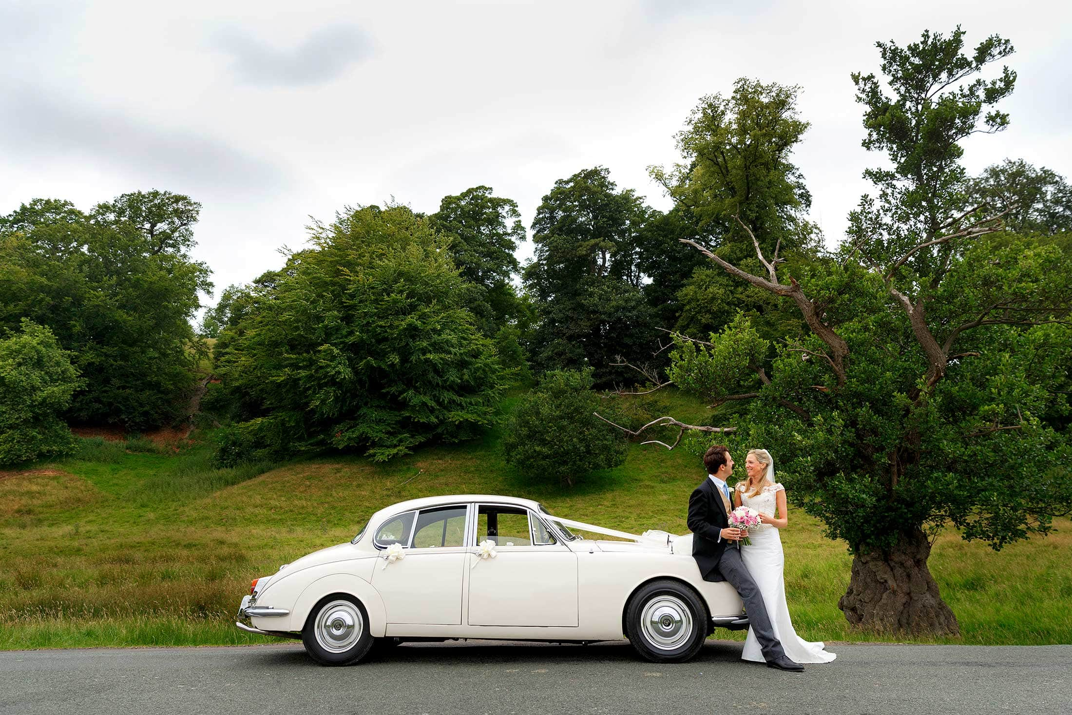 Callow Hall wedding photos of Emma & Will