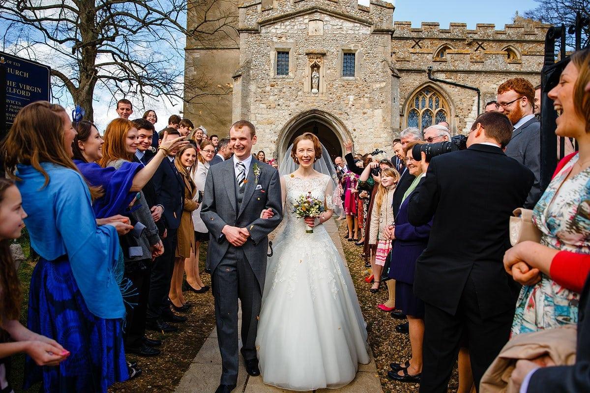 Granary Barns Woodditton spring wedding | Just One