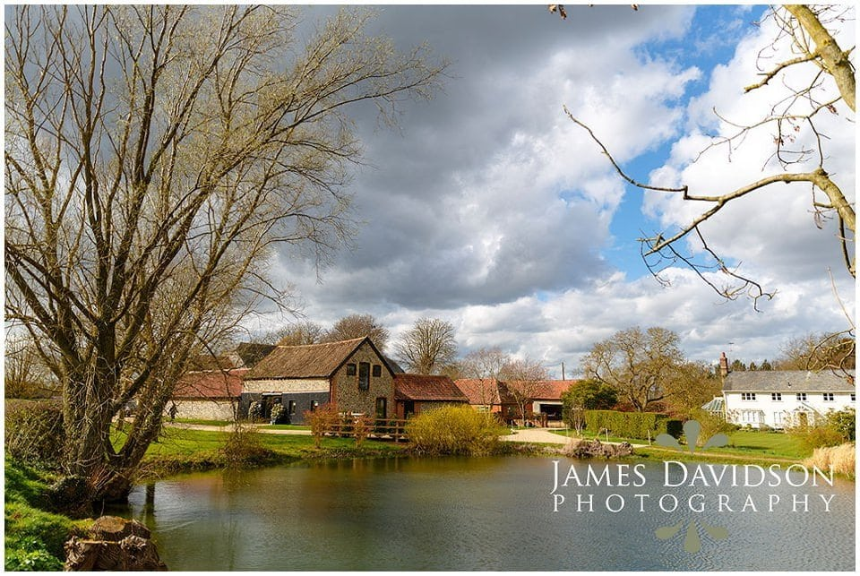 granary barns woodditton spring wedding