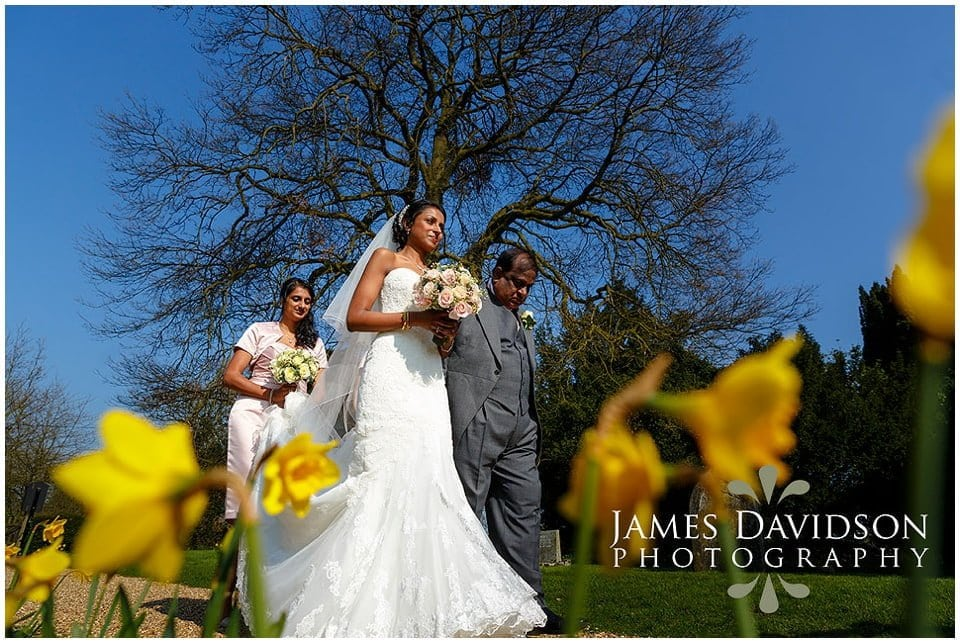 Gosfield Hall spring wedding